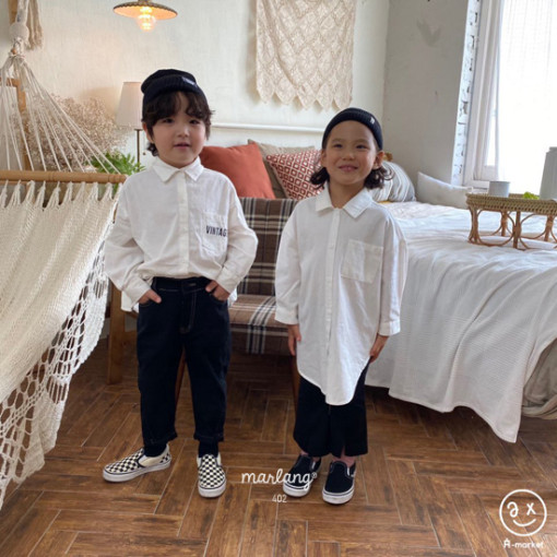 A-MARKET - BRAND - Korean Children Fashion - #Kfashion4kids - Long Shirt