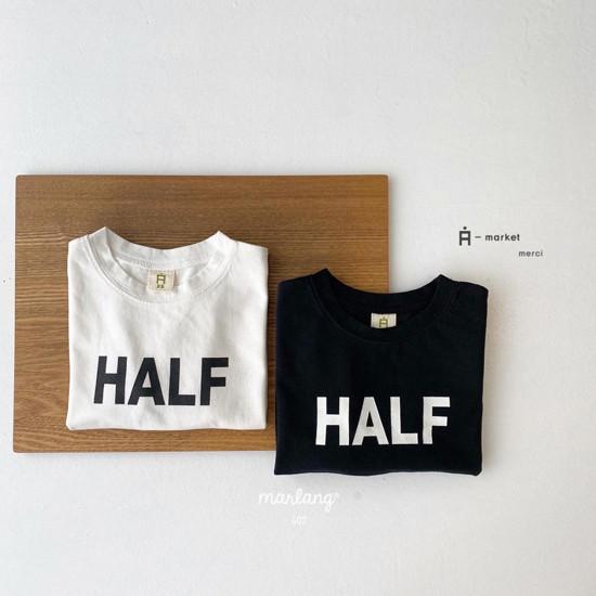 A-MARKET - Korean Children Fashion - #Kfashion4kids - Half Tee