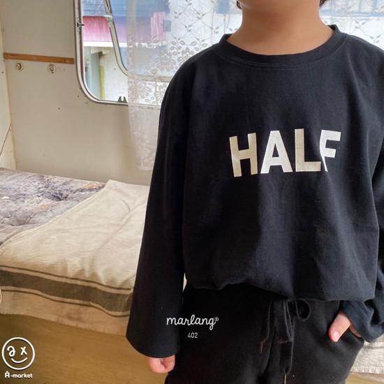 A-MARKET - Korean Children Fashion - #Kfashion4kids - Half Tee - 11