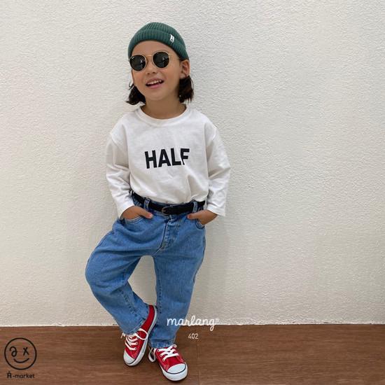 A-MARKET - Korean Children Fashion - #Kfashion4kids - Half Tee - 2