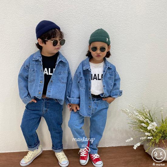 A-MARKET - Korean Children Fashion - #Kfashion4kids - Half Tee - 4