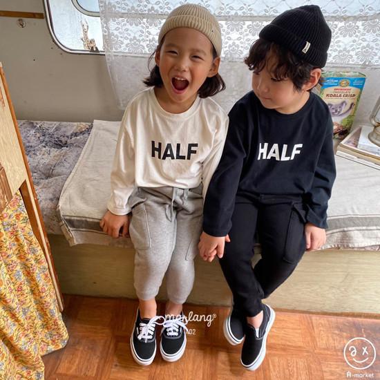 A-MARKET - Korean Children Fashion - #Kfashion4kids - Half Tee - 5