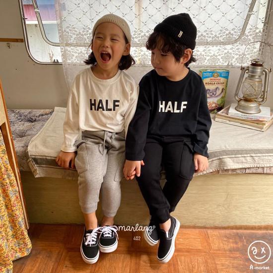 A-MARKET - Korean Children Fashion - #Kfashion4kids - Half Tee - 6