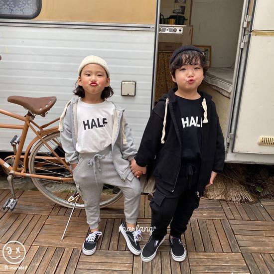 A-MARKET - Korean Children Fashion - #Kfashion4kids - Half Tee - 8