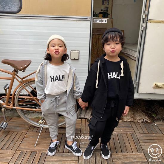 A-MARKET - Korean Children Fashion - #Kfashion4kids - Half Tee - 9