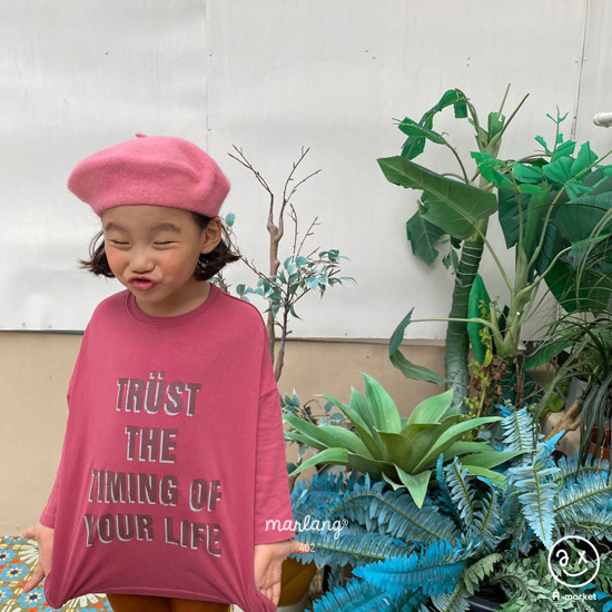 A-MARKET - Korean Children Fashion - #Kfashion4kids - Trust Long Tee - 2