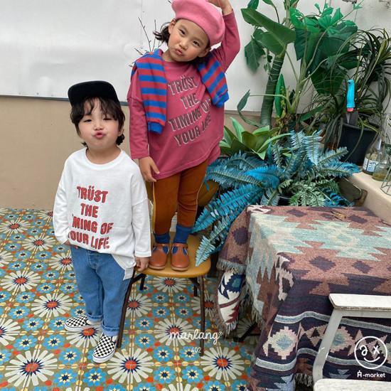 A-MARKET - Korean Children Fashion - #Kfashion4kids - Trust Long Tee - 3