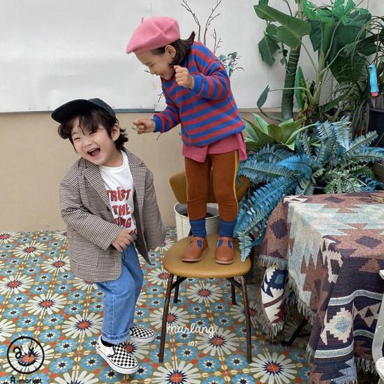 A-MARKET - Korean Children Fashion - #Kfashion4kids - Trust Long Tee - 6