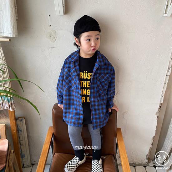 A-MARKET - Korean Children Fashion - #Kfashion4kids - Trust Long Tee - 8