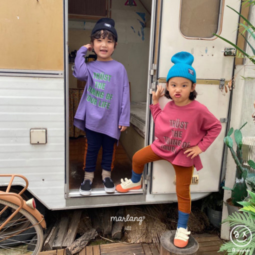 A-MARKET - BRAND - Korean Children Fashion - #Kfashion4kids - Trust Long Tee