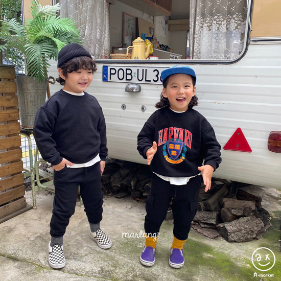 A-MARKET - Korean Children Fashion - #Kfashion4kids - Harvard MTM - 3