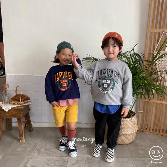 A-MARKET - Korean Children Fashion - #Kfashion4kids - Harvard MTM - 5