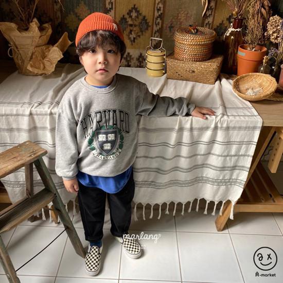 A-MARKET - Korean Children Fashion - #Kfashion4kids - Harvard MTM - 8