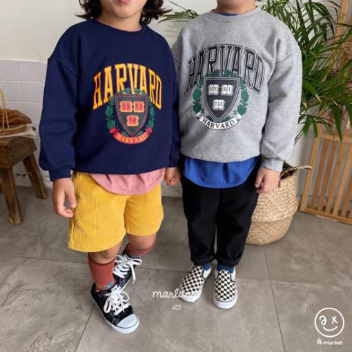 A-MARKET - BRAND - Korean Children Fashion - #Kfashion4kids - Harvard MTM