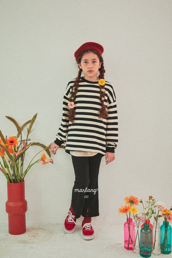 A-MARKET - Korean Children Fashion - #Kfashion4kids - Color Stripe MTM - 10