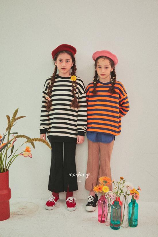 A-MARKET - Korean Children Fashion - #Kfashion4kids - Color Stripe MTM - 11