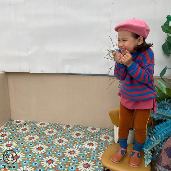 A-MARKET - Korean Children Fashion - #Kfashion4kids - Color Stripe MTM - 12