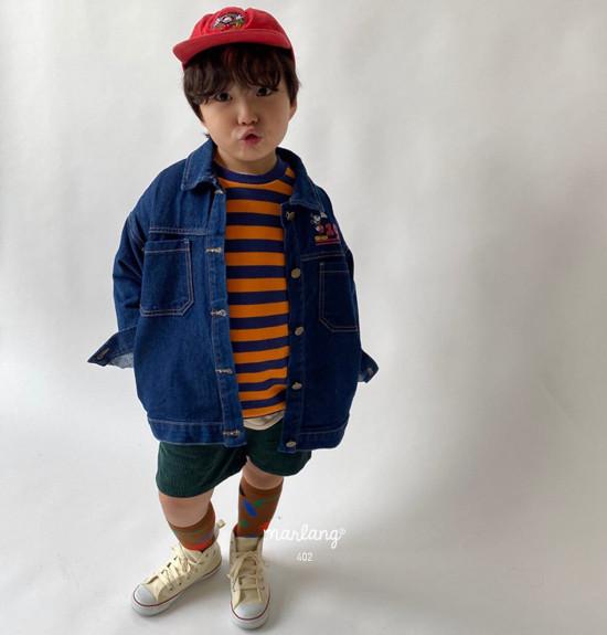 A-MARKET - Korean Children Fashion - #Kfashion4kids - Color Stripe MTM - 7