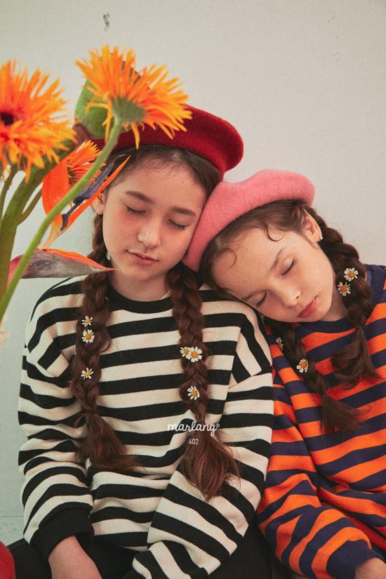 A-MARKET - Korean Children Fashion - #Kfashion4kids - Color Stripe MTM - 8