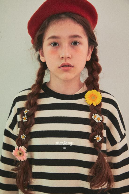 A-MARKET - Korean Children Fashion - #Kfashion4kids - Color Stripe MTM - 9