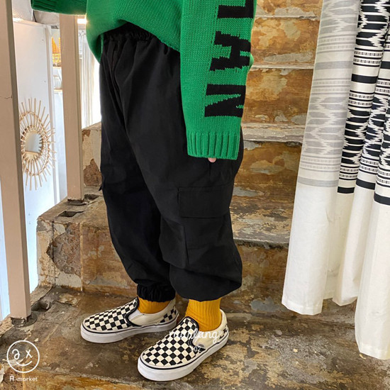 A-MARKET - Korean Children Fashion - #Kfashion4kids - Street Cargo Pants - 12