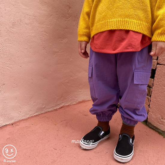 A-MARKET - Korean Children Fashion - #Kfashion4kids - Street Cargo Pants - 8