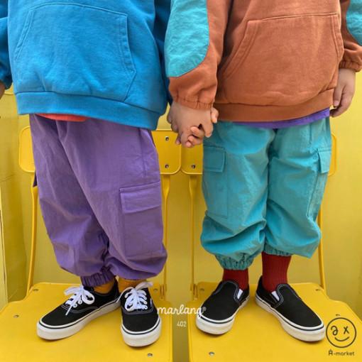 A-MARKET - BRAND - Korean Children Fashion - #Kfashion4kids - Street Cargo Pants