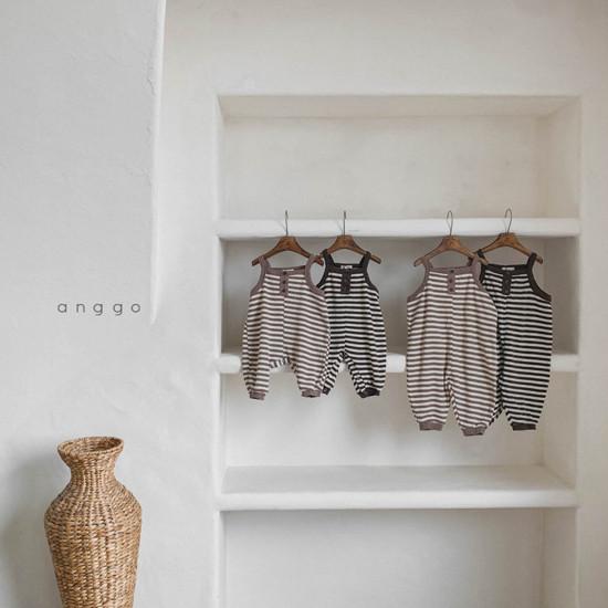 ANGGO - Korean Children Fashion - #Kfashion4kids - Bebe Poly Bodysuit - 3
