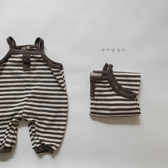 ANGGO - Korean Children Fashion - #Kfashion4kids - Bebe Poly Bodysuit - 6