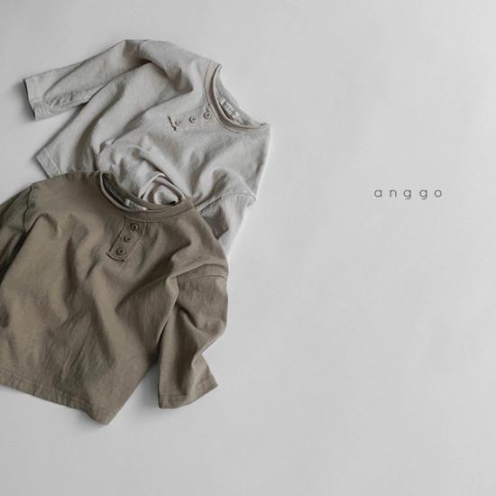 ANGGO - Korean Children Fashion - #Kfashion4kids - Biscuit Tee
