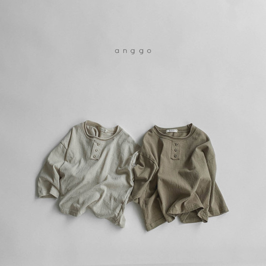 ANGGO - Korean Children Fashion - #Kfashion4kids - Biscuit Tee - 10