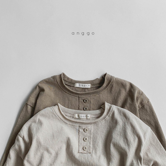 ANGGO - Korean Children Fashion - #Kfashion4kids - Biscuit Tee - 4