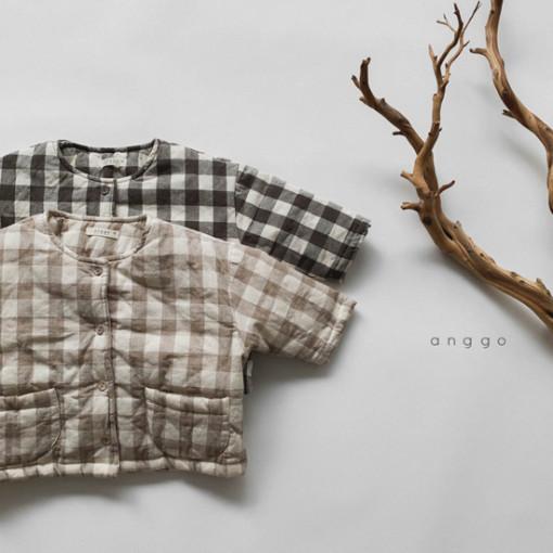 ANGGO - BRAND - Korean Children Fashion - #Kfashion4kids - Wafers Jacket