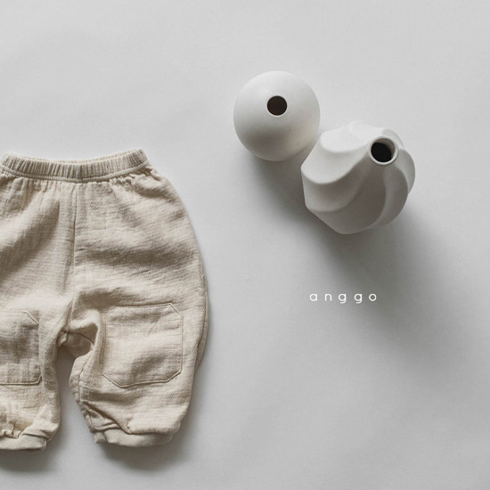 ANGGO - Korean Children Fashion - #Kfashion4kids - Pound Pants - 3