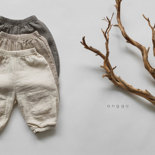 ANGGO - BRAND - Korean Children Fashion - #Kfashion4kids - Pound Pants