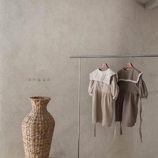 ANGGO - Korean Children Fashion - #Kfashion4kids - Monaca One-piece - 11