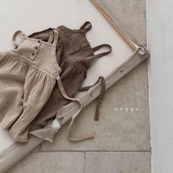 ANGGO - Korean Children Fashion - #Kfashion4kids - Monaca One-piece - 2