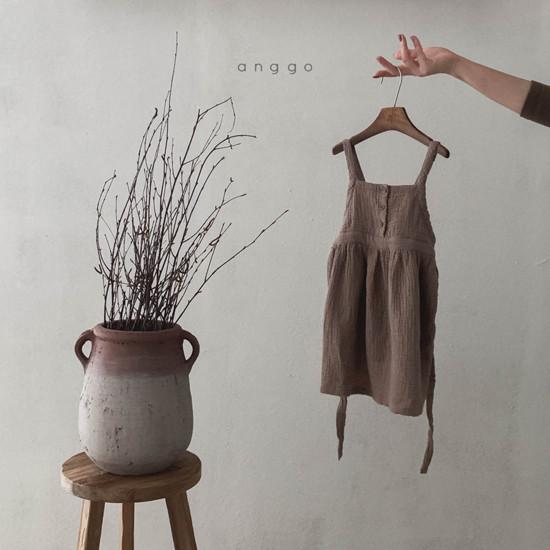 ANGGO - Korean Children Fashion - #Kfashion4kids - Monaca One-piece - 6