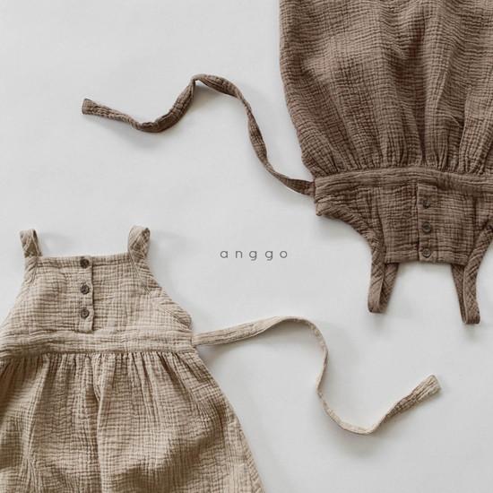 ANGGO - Korean Children Fashion - #Kfashion4kids - Monaca One-piece - 9