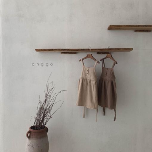 ANGGO - BRAND - Korean Children Fashion - #Kfashion4kids - Monaca One-piece