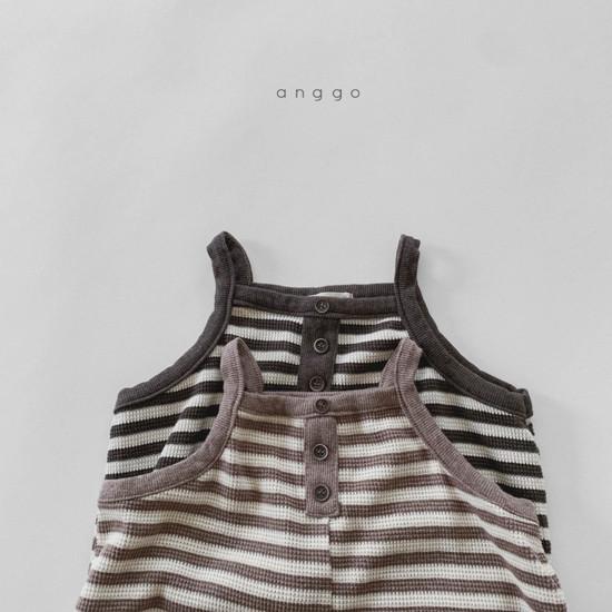 ANGGO - Korean Children Fashion - #Kfashion4kids - Poly Overalls - 2
