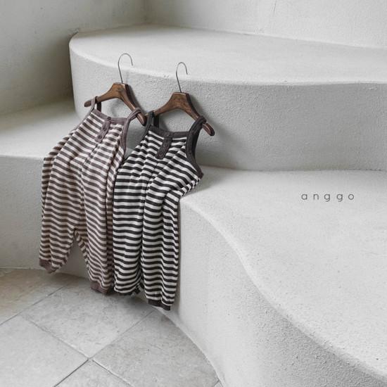 ANGGO - Korean Children Fashion - #Kfashion4kids - Poly Overalls - 3