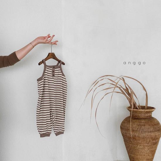 ANGGO - Korean Children Fashion - #Kfashion4kids - Poly Overalls - 4
