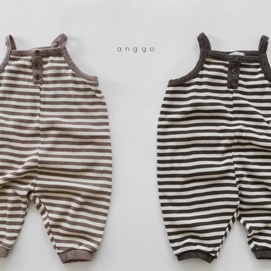 ANGGO - Korean Children Fashion - #Kfashion4kids - Poly Overalls - 8