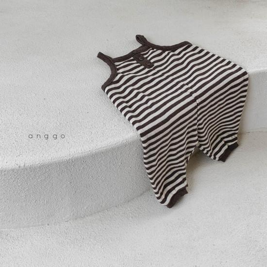 ANGGO - Korean Children Fashion - #Kfashion4kids - Poly Overalls - 9