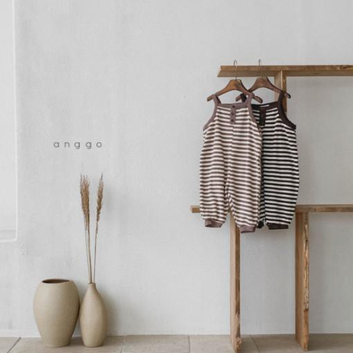 ANGGO - BRAND - Korean Children Fashion - #Kfashion4kids - Poly Overalls