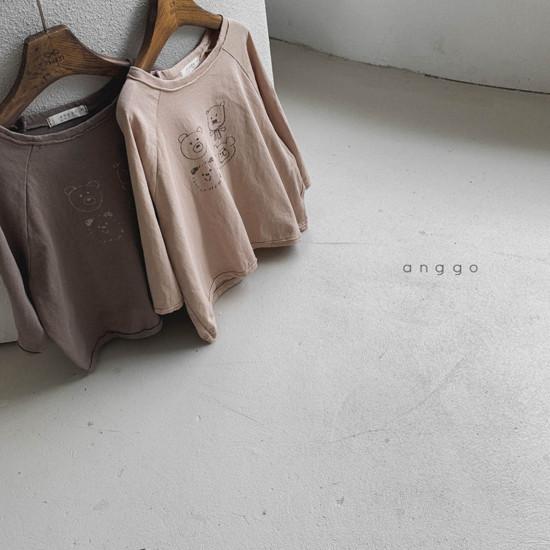 ANGGO - Korean Children Fashion - #Kfashion4kids - Kumakuma Tee - 3