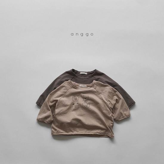 ANGGO - Korean Children Fashion - #Kfashion4kids - Kumakuma Tee - 4