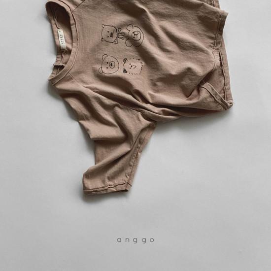 ANGGO - Korean Children Fashion - #Kfashion4kids - Kumakuma Tee - 5
