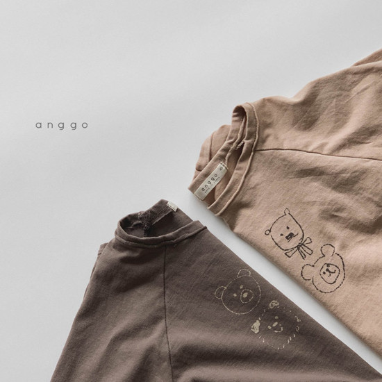 ANGGO - Korean Children Fashion - #Kfashion4kids - Kumakuma Tee - 7